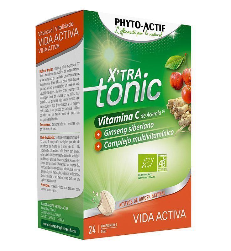 """XTRA-Tonic Vida Activa, un plus """"BIO"""" para poder con todo, de Faes Farma"""