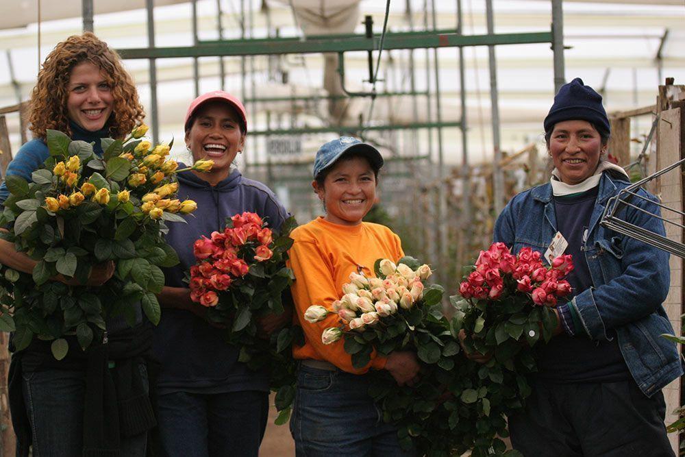 fairtrade género mujeres