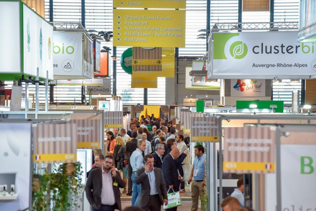 Natexpo: la primera cita del sector BIO en Francia, del 20 al 22 de octubre en París