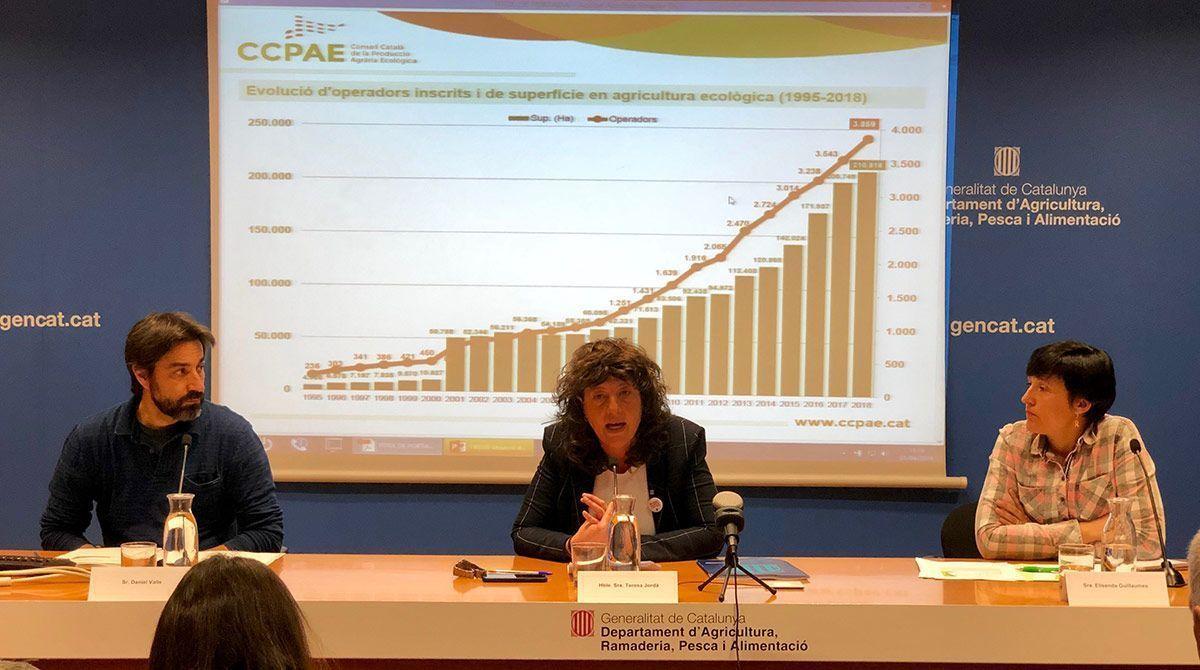 Catalunya: el sector BIO crece imparable catalunya producció ecològica catalunya agricultura ecològica mercat ecològic