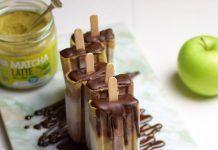 Heladosde cacao y matcha gelats de cacau i matcha