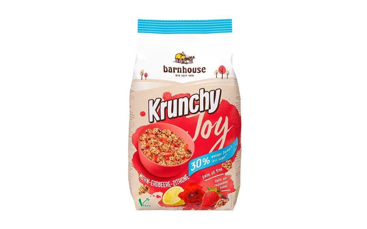 Krunchy Joy Amapola-Fresa-Limón, de Barnhouse