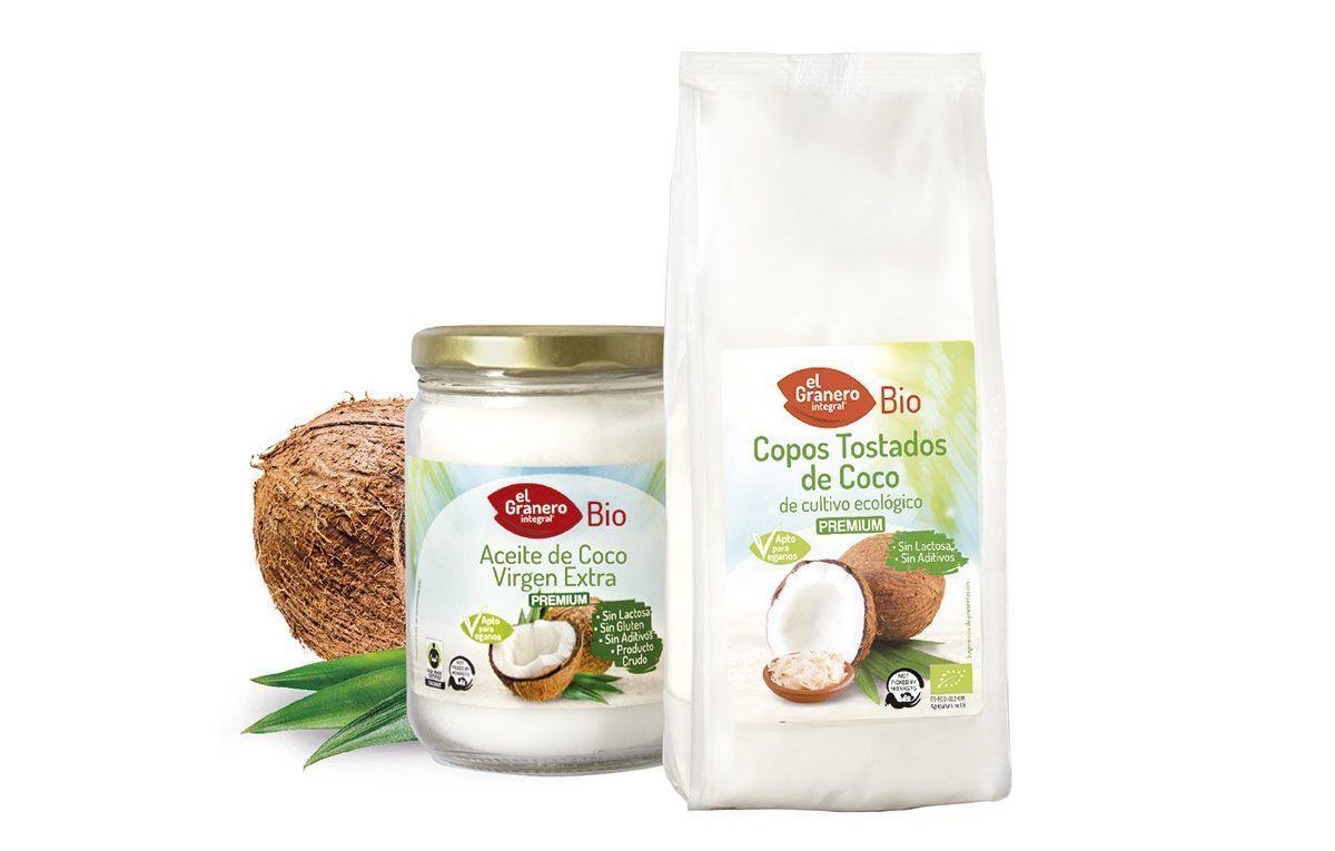 Ampliamos la línea de Coco 100%, bio Calidad Premium, de El Granero Integral
