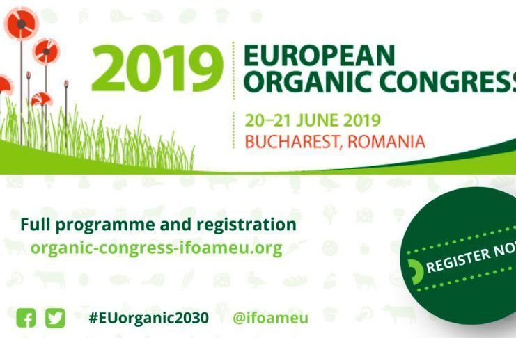 European Organic Congress 2019 - Let's talk innovation and technology for the organic sector