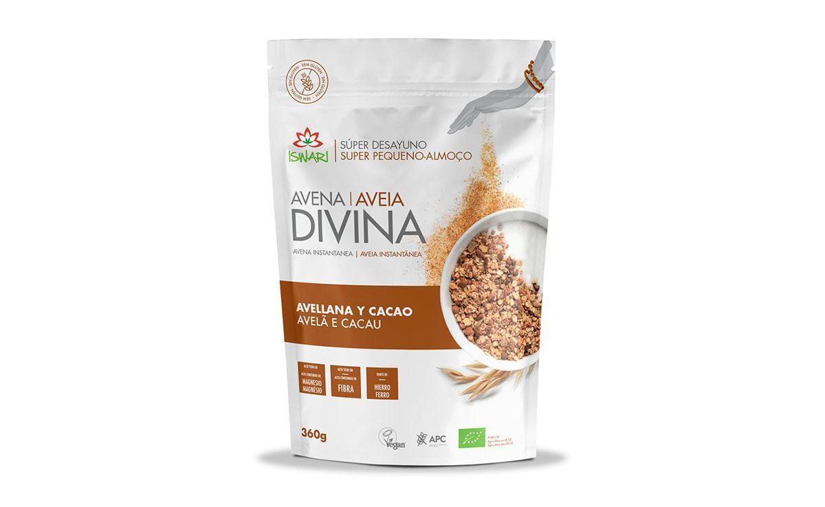 Avena Divina Avellana y Cacao, de Iswari