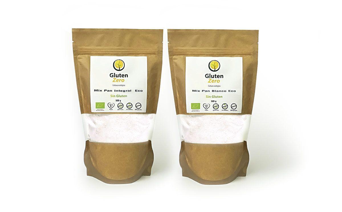 Mix para repostería ecológico y sin gluten, de Gluten Zero