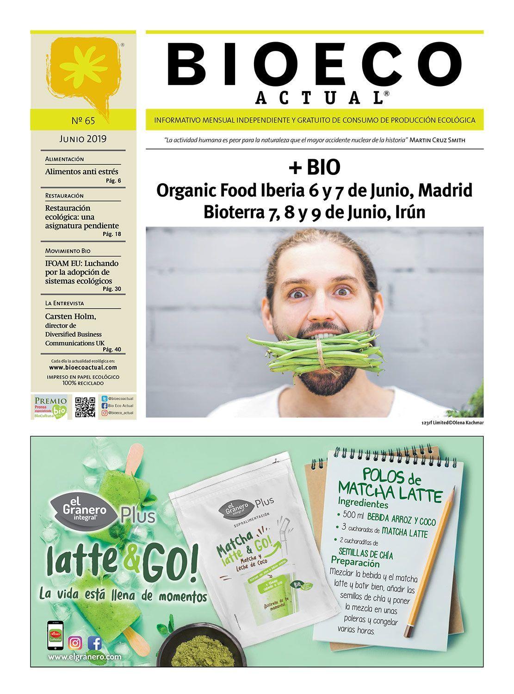 Portada Bio Eco Actual Junio 2019 Alimentación Ecológica