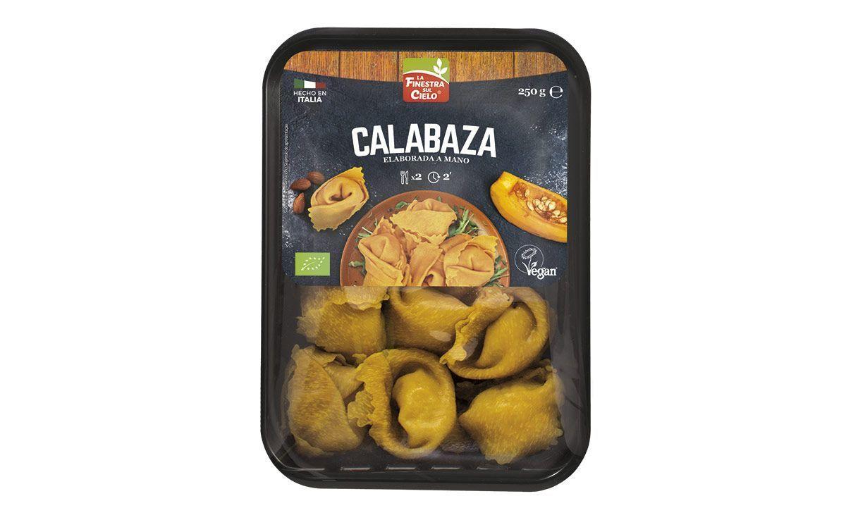 Panzerotto vegano de calabaza & almendras caramelizadas, de La Finestra sul Cielo