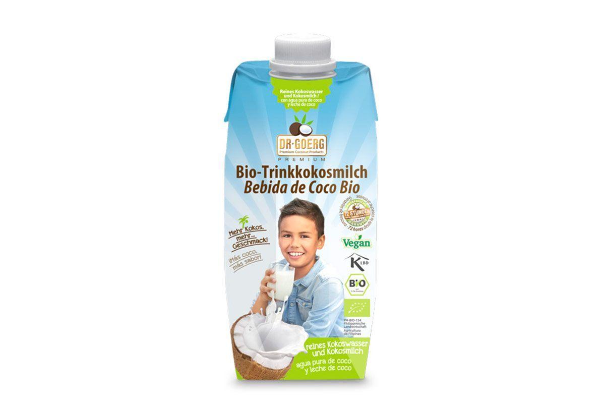 Bebida de leche de coco, de Dr. Goerg