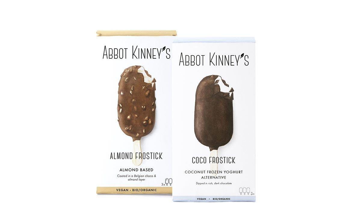 Helados de Coco y Almendra, de Abbot Kinney's