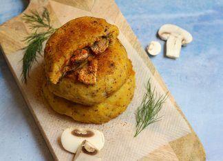 Recepta: Mini truites de patata veganes farcides de xampinyons