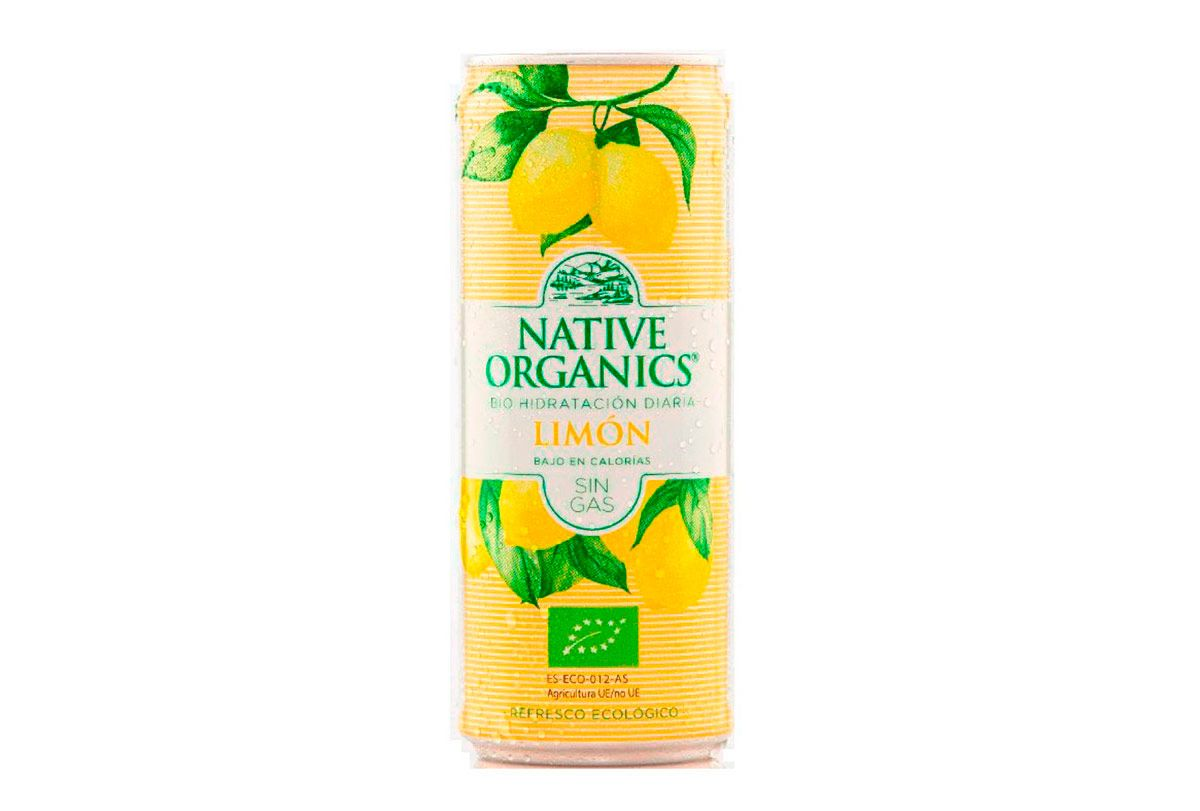 Refresco isotónico ecológico, de Native Organics