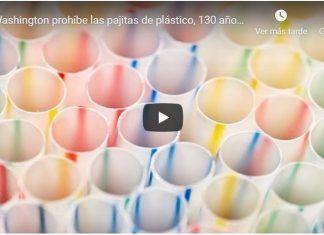 Washington prohíbe las pajitas de plástico, 130 años después de patentarlas