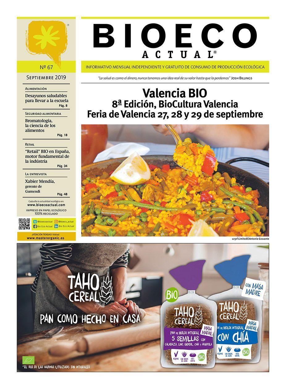 Bio Eco Actual Septiembre 2019 BioCultura Valencia Alimentación Ecológica Prensa BIO Alimentación Saludable