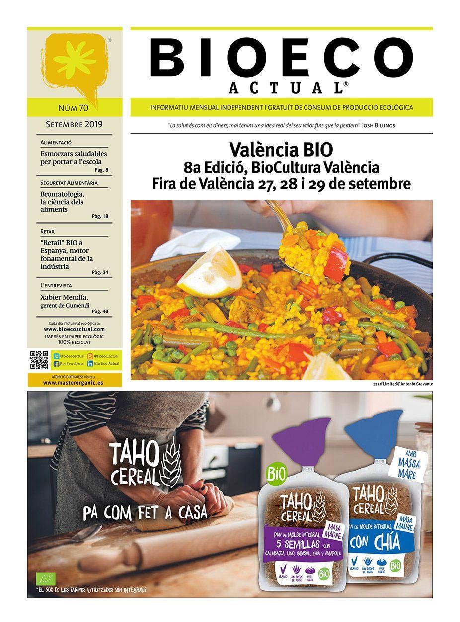 Bio Eco Actual Setembre 2019 Alimentació Ecològica Premsa BIO BioCultura