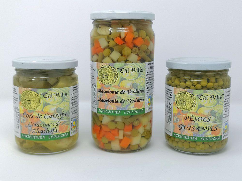 Nova gamma de verdures ecològiques, de Cal Valls
