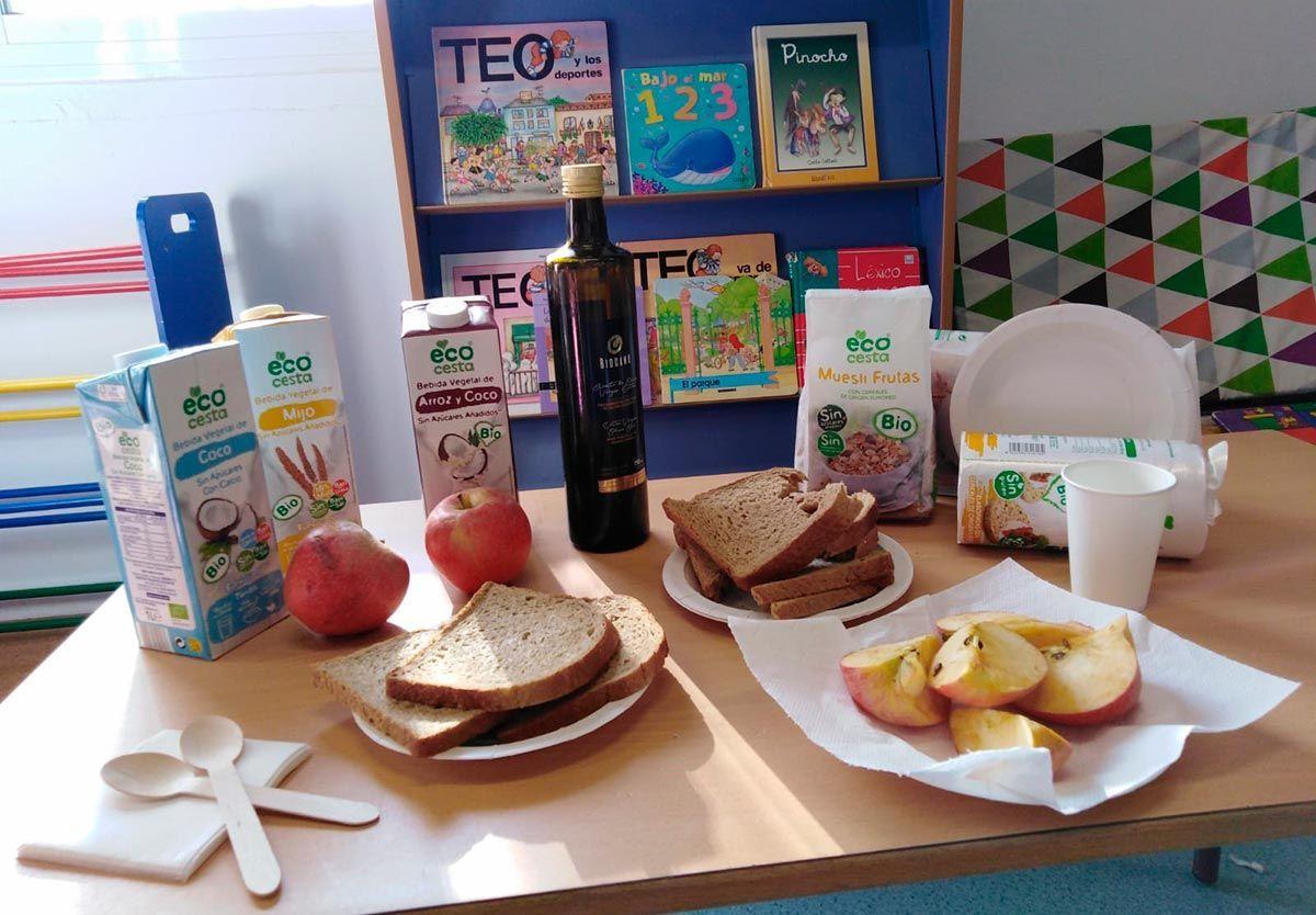 El proyecto EducaBio reanuda la promoción de hábitos de alimentación saludables en centros educativos