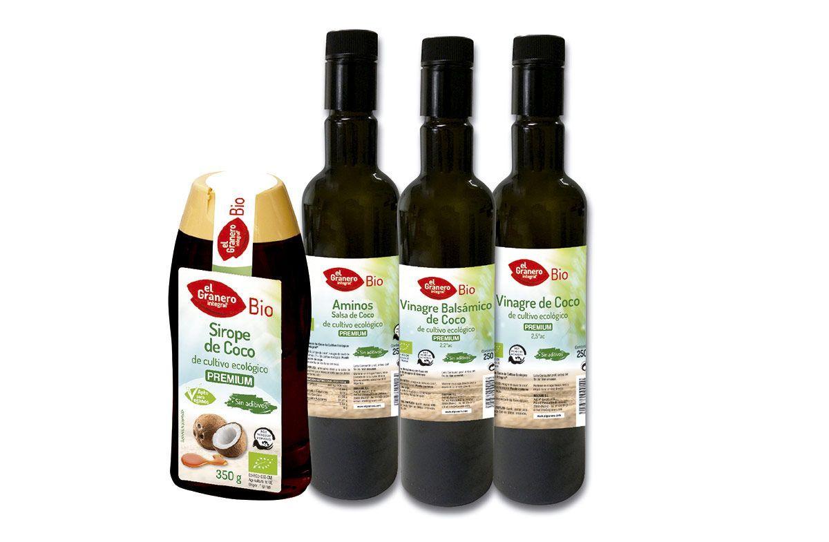 Línea de Coco 100% bio Calidad Premium, de El Granero Integral
