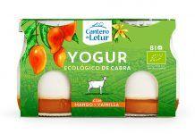 Nou iogurt de cabra amb mango i vainilla, d'El Cantero de Letur