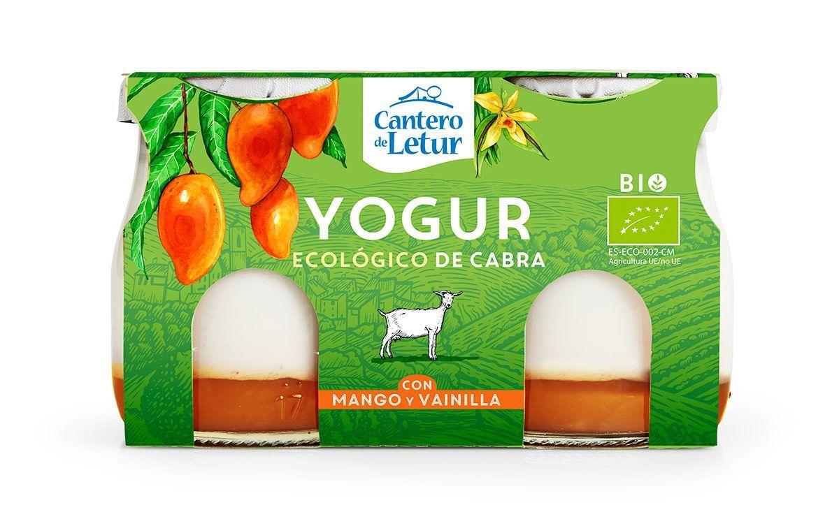 Nuevo yogur de cabra con mango y vainilla, de El Cantero de Letur