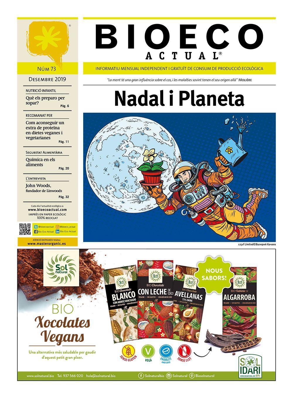Bio Eco Actual Desembre 2019 premsa independent en català alimentació ecològica sostenibilitat medi ambient salut