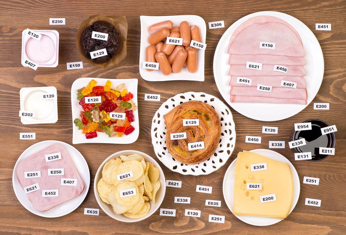 Química en los Alimentos I: aditivos alimentarios