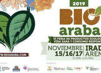 La alimentación ecológica será la protagonista de la VI edición de Bioaraba