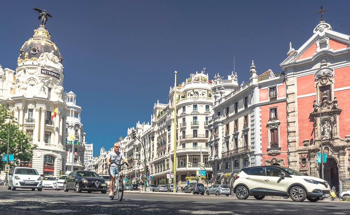 Madrid Central consigue una reducción histórica de contaminación en la ciudad
