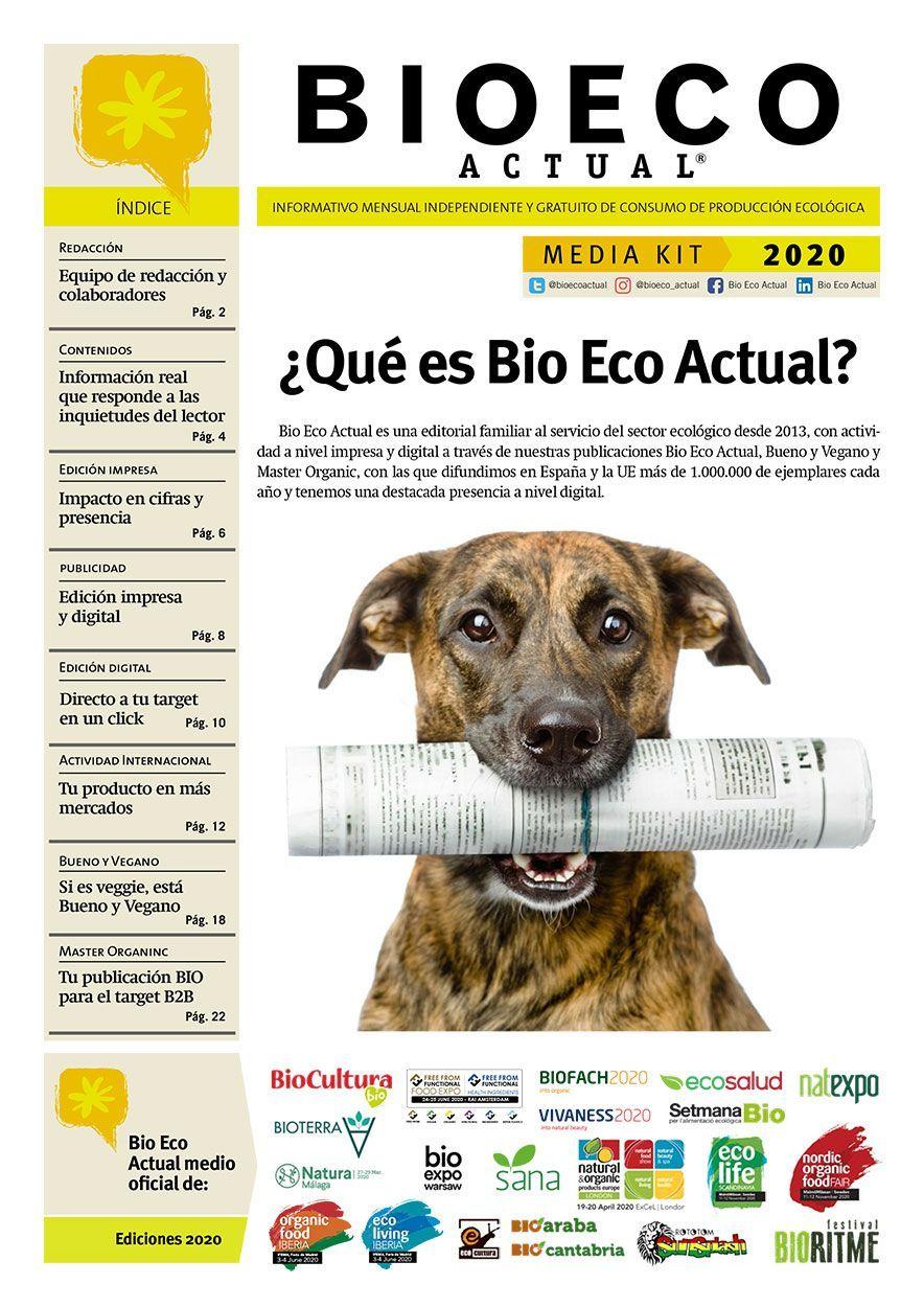 Media Kit Bio Eco Actual 2020 Alimentación Ecológica Cosmética Bio prensa independiente