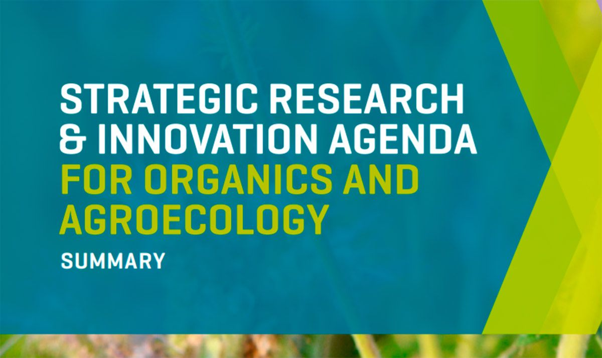 TP Organics unveils the organic movement's research & innovation priorities