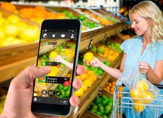 Aplicaciones para identificar alimentos y cosméticos sanos