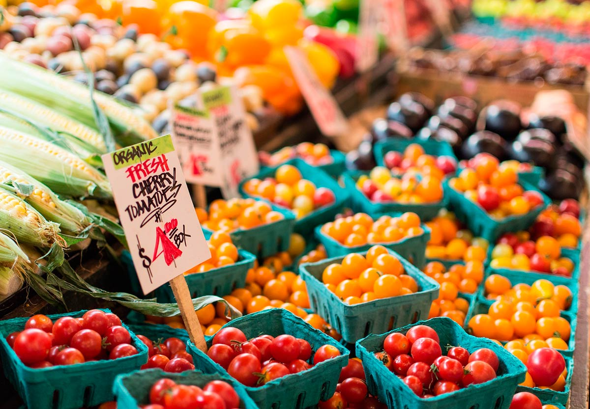 Organic market worldwide: observed trends in the last few years