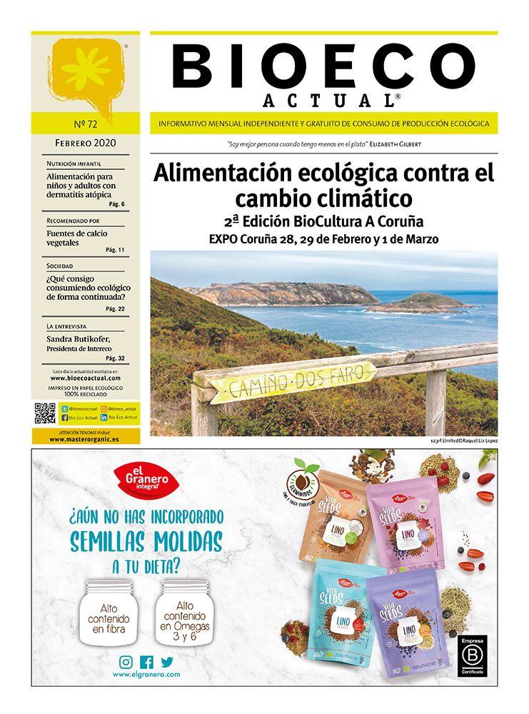 Bio Eco Actual Febrero 2020 Alimentación ecológica contra el cambio climático