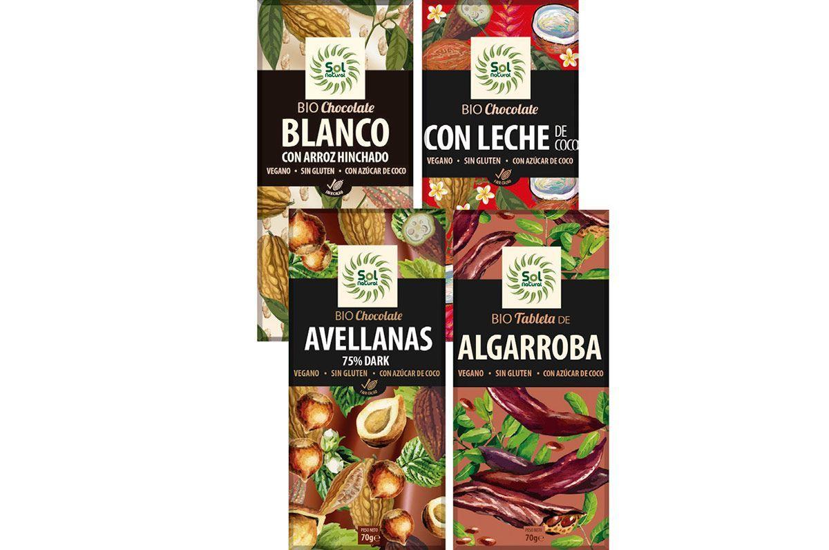 Sol Natural Chocolates Veganos
