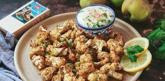 Receta: Coliflor asada estilo Jamaica con salsa de manzana
