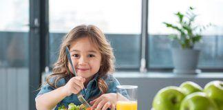 Consejos para una alimentación vegana para bebés y niños