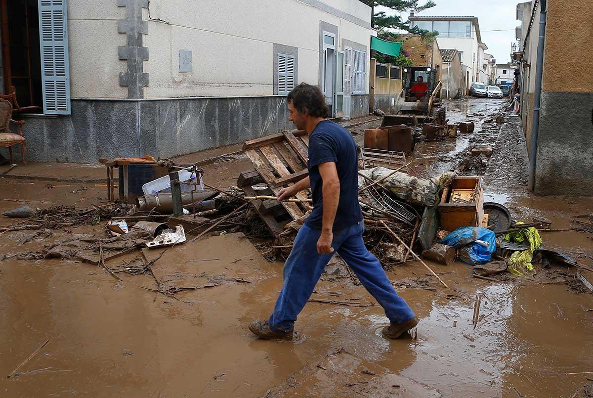 Inundaciones alimentadas por el cambio climático