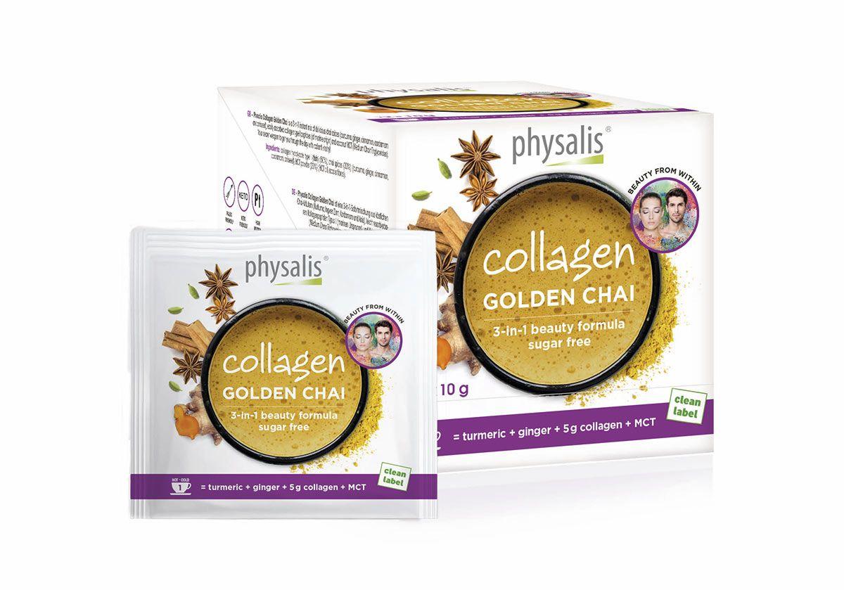 Dale brillo a tu piel con la bebida Collagen Golden Chai