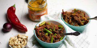 Receta: Salteado de verduras con quinoa