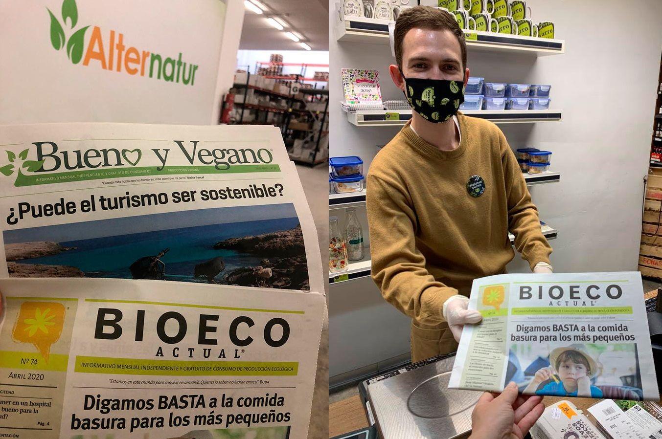 Alimentación Ecológica Covid-19 Alternatur y Herbolario Navarro Covid-19 comercio ecológico proximidad