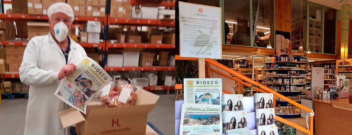 Ecocentro Madrid Alimentación Ecológica El Horno de Leña Bio Eco Actual Covid-19 comercio ecológico proximidad