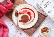 Receta: Flan de chocolate vegano