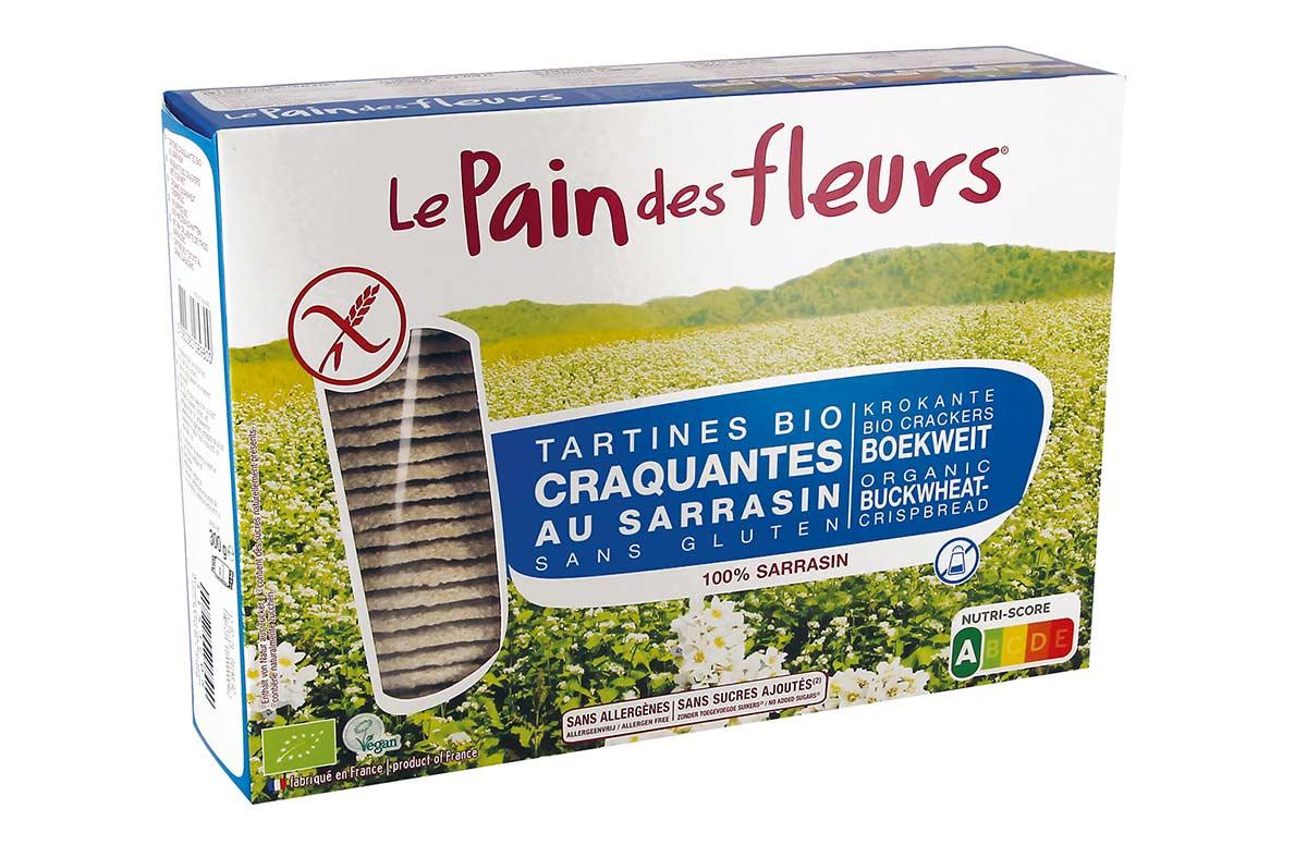 Cracker sarraceno sin sal, de Le Pain des Fleurs