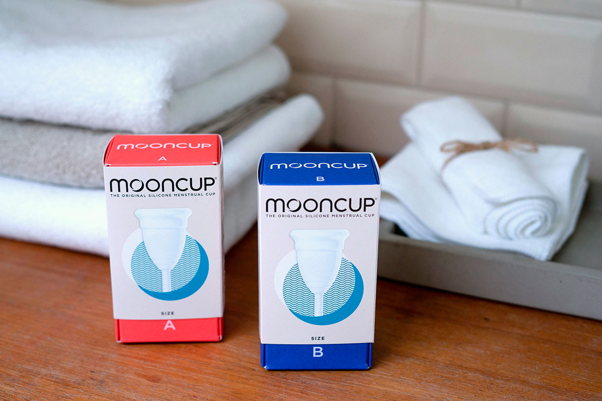 """Eileen Greene (Mooncup): """"Periods don't stop for pandemics"""""""