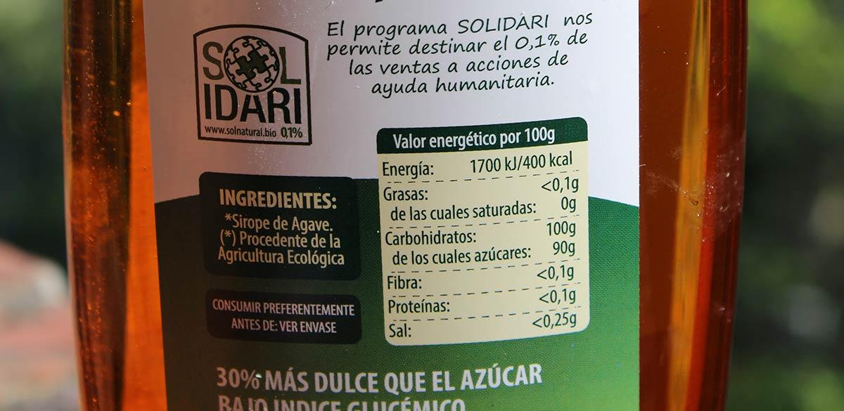 Etiquetado de los alimentos, información obligatoria a los consumidores I