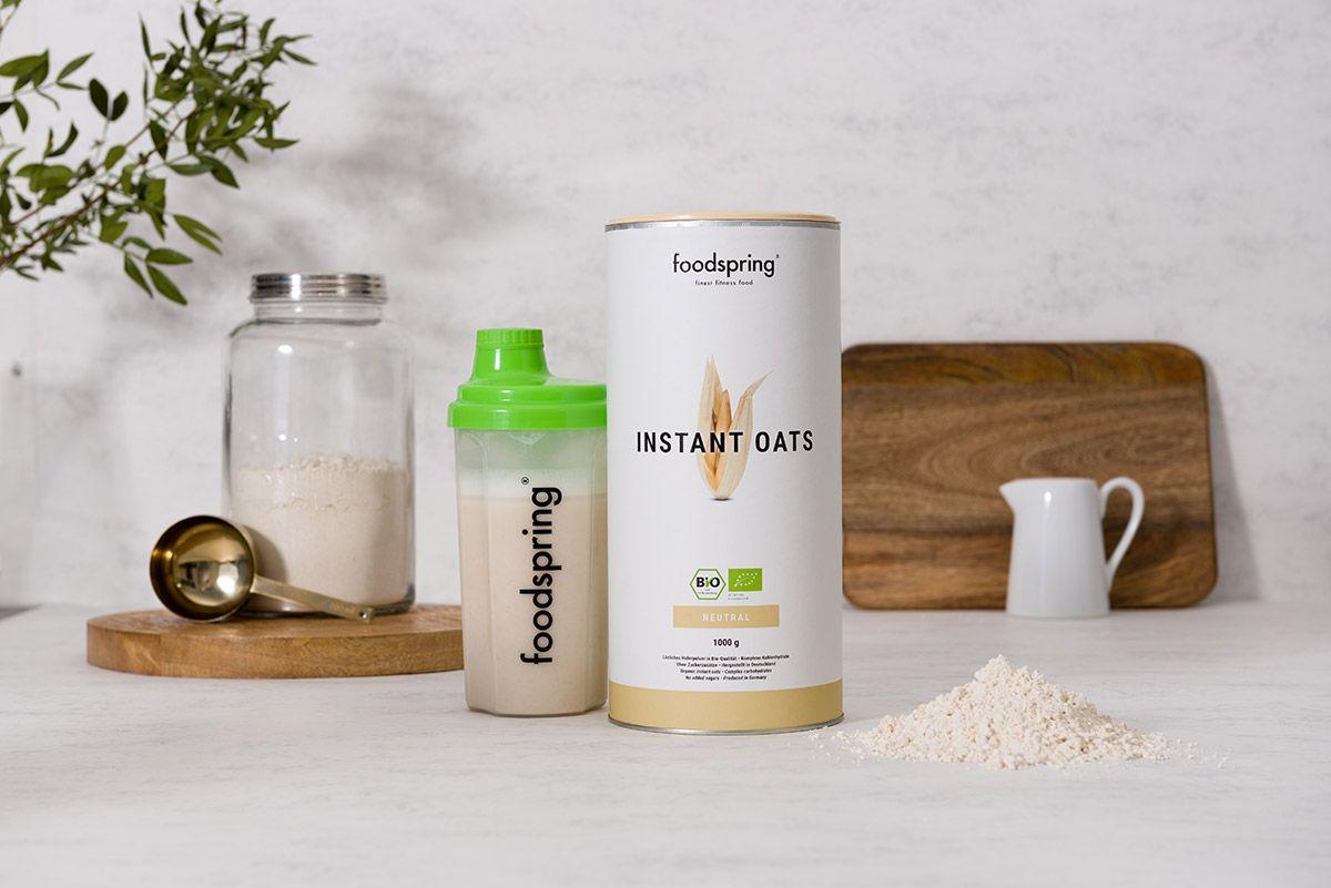 Instant Oats Foodspring: Alimentación ecológica para deportistas