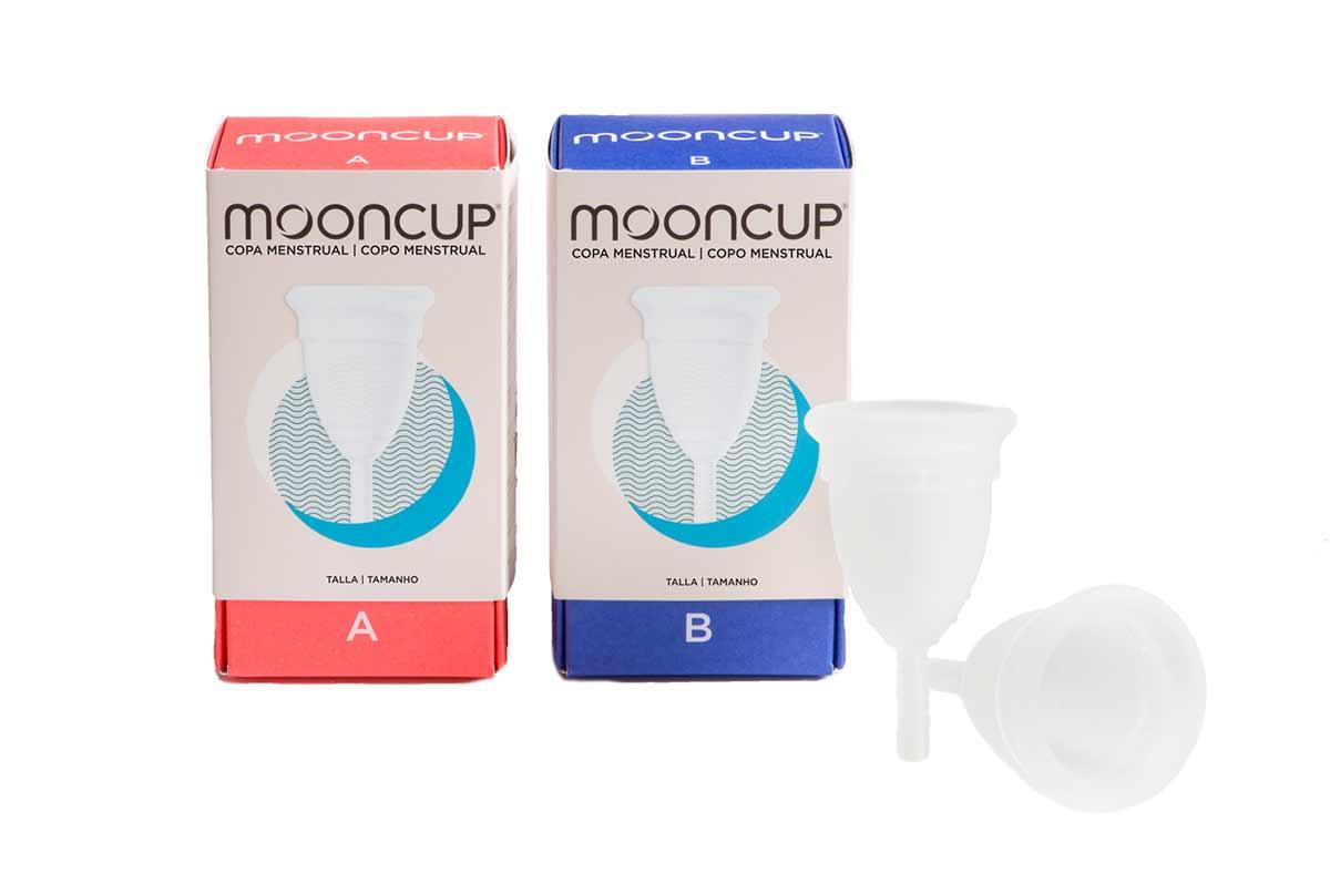 Copa menstrual práctica, segura y ecológica, de Mooncup