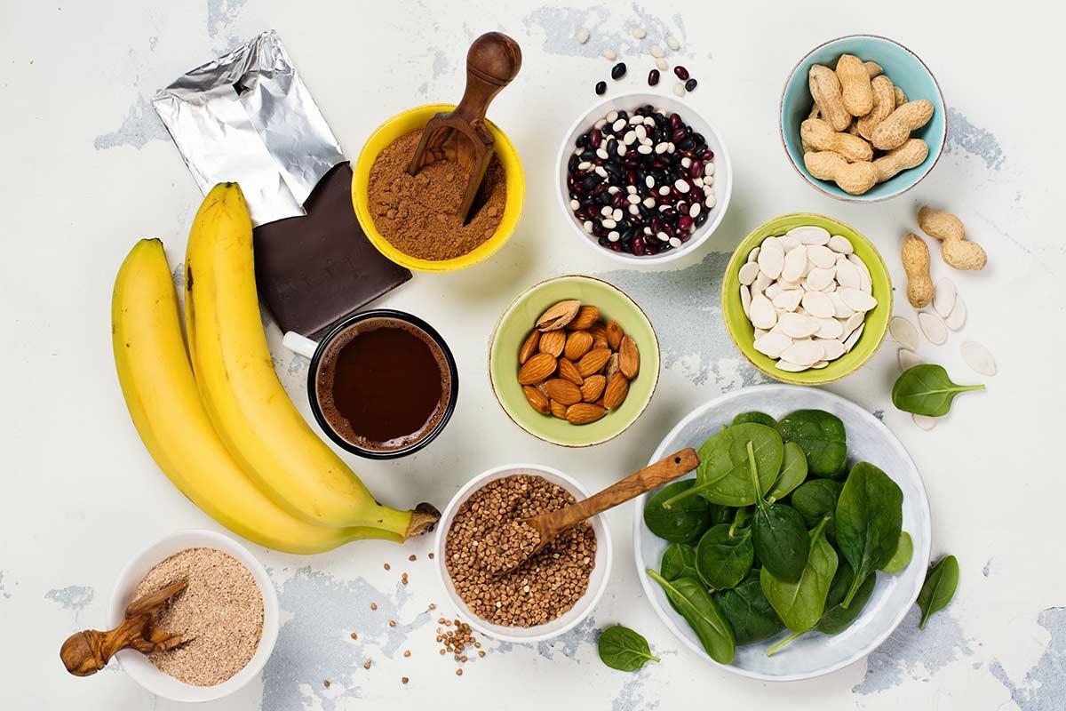 Alimentos ricos en magnesio: en forma, sano y lleno de energía