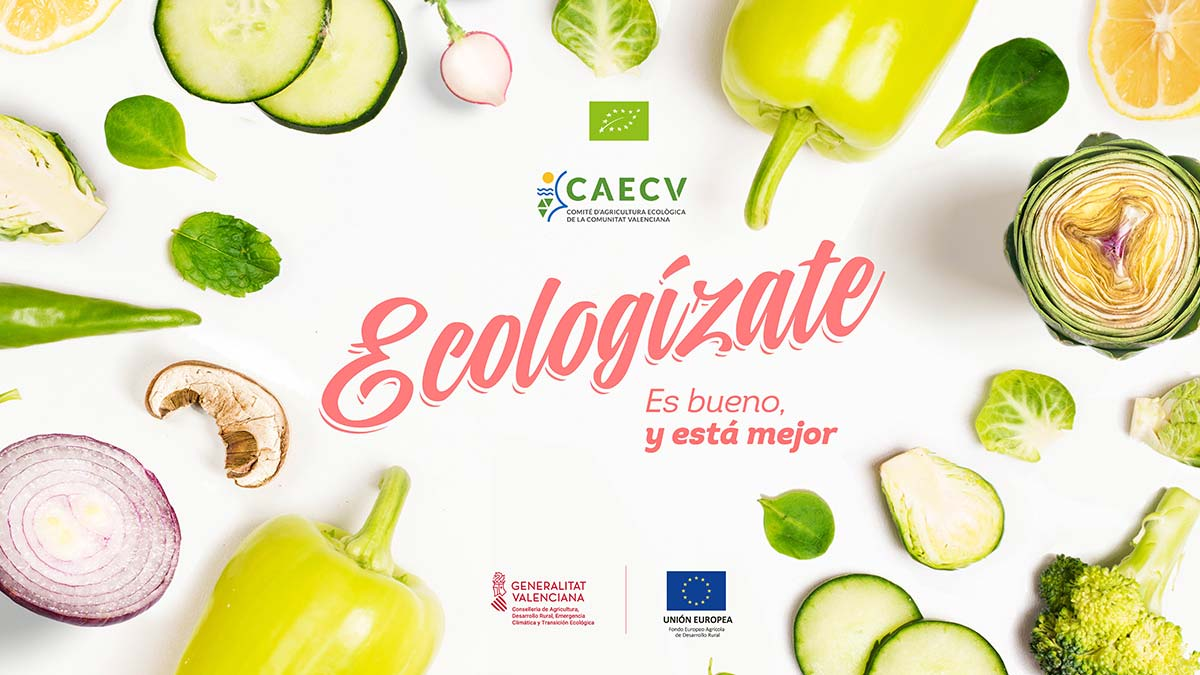 Ecologízate, una campaña del CAECV para apoyar al sector ecológico