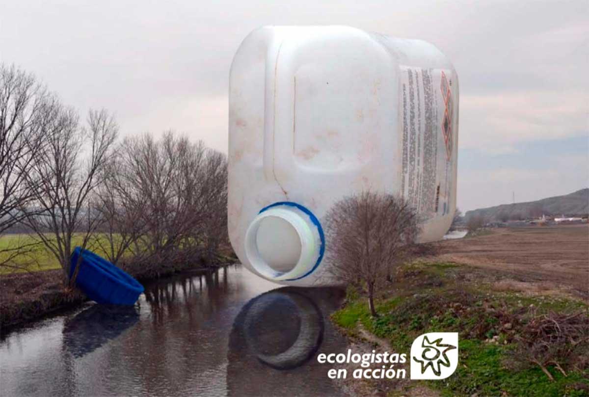 Ecologistas en Acción denuncia la presencia de glifosato en los ríos españoles